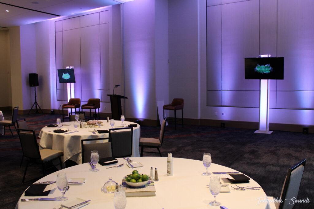 Marriot Dallas Audio Visuals TXacom Luncheon